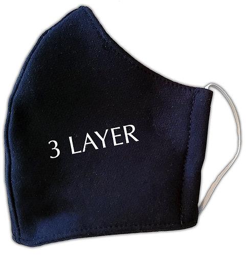 KA19E312 Triple Layer Personal Protection Mask w/Elastic (12pcs)