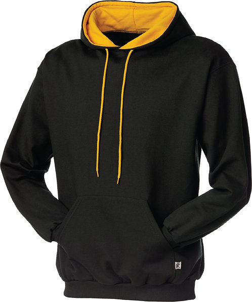 KF9041 Double Hooded 2Tone Pullover (adult & youth)