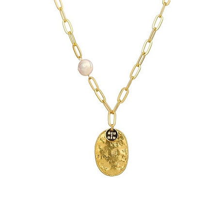 Gold Plated Peace Lover Necklace