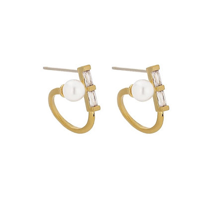 Gold Plated Cara Earrings