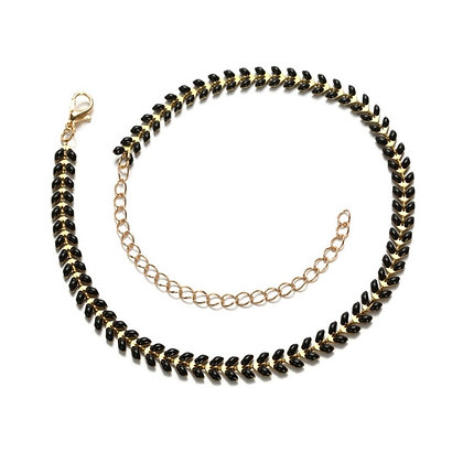 Black Arrow Choker Necklace