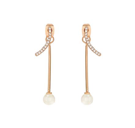 Gold Plated Teresa Earrings