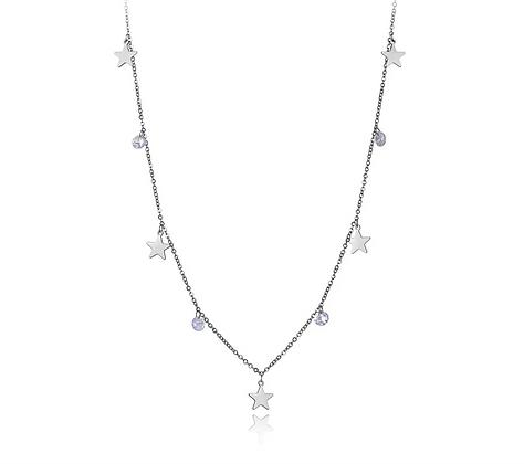 Silver Plated Stargaze Necklace