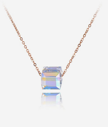 Rose Gold Plated Candy Necklace