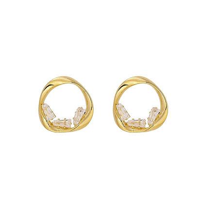 Gold Plated Stasie Earrings