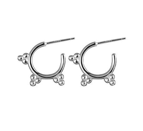 Silver Plated Lara Earrings