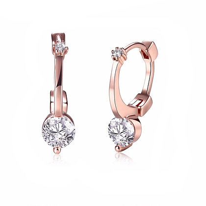 Rose Gold Plated Amy Earrings