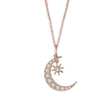 Rose Gold Plated Casablanca Necklace