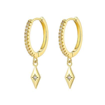 Gold Plated Anastasia Earrings
