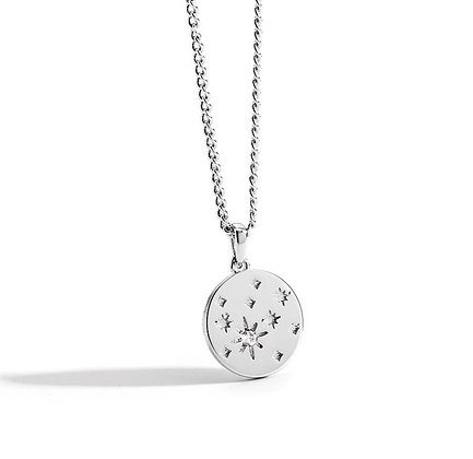 Silver Plated Nala Necklace