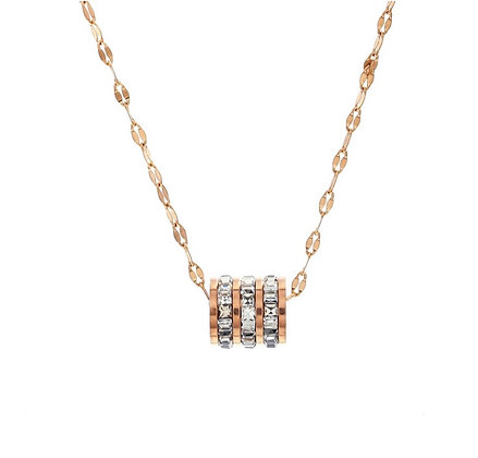 Rose Gold Plated Rania Necklace