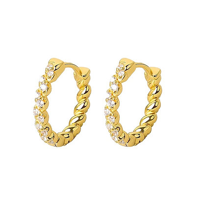 Gold Plated Miranda Earrings