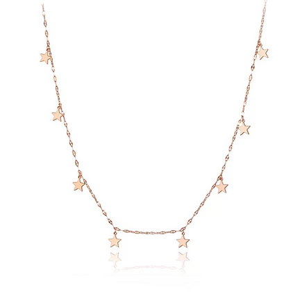 Rose Gold Plated Julia Necklace