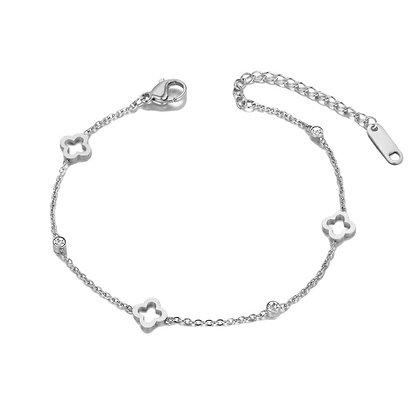 Silver Plated Aurora Bracelet