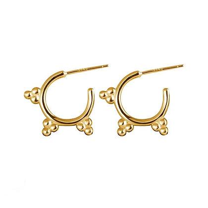 Gold Plated Lara Earrings