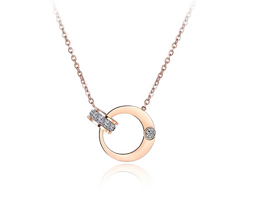 Rose Gold Plated Ori Necklace