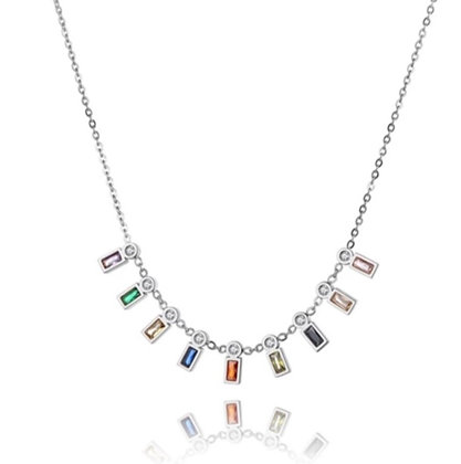 Silver Plated Tasha Necklace