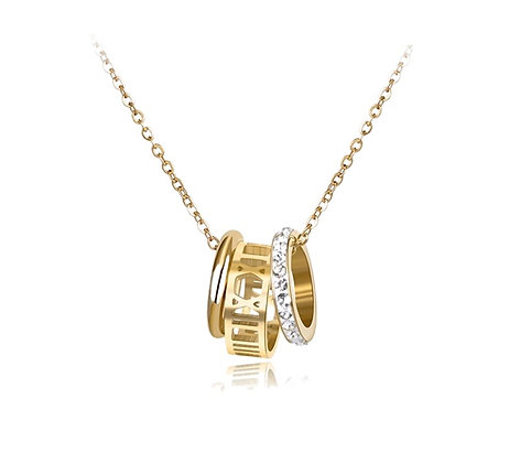 Gold Plated Madonna Necklace