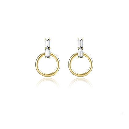 Sterling Silver Ava Earrings