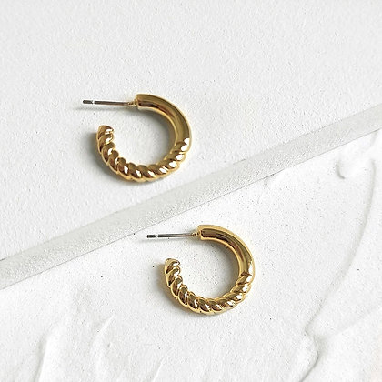 Gold Plated Olivia Earrings