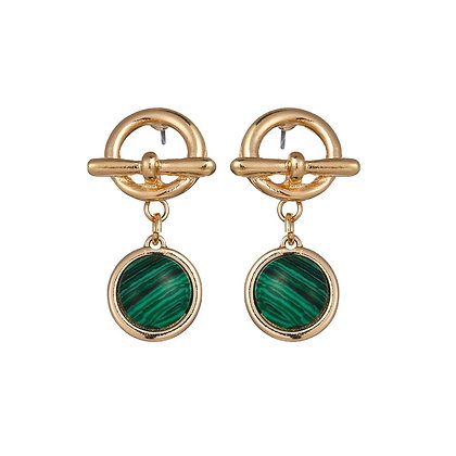 Gold Plated Prima Earrings