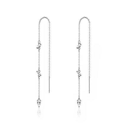 Silver Plated Rhea Earrings