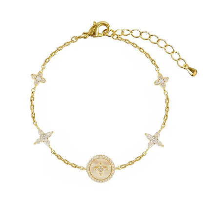 Gold Plated Bette Bracelet