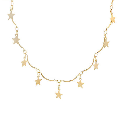 North Star Choker Necklace