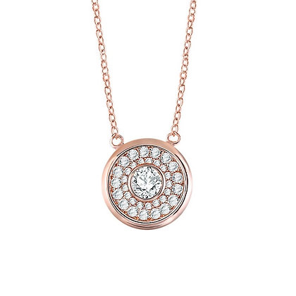 Rose Gold Plated Roda Necklace