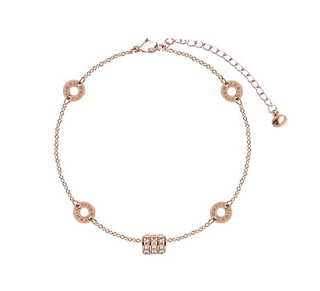 Rose Gold Plated Helga Bracelet