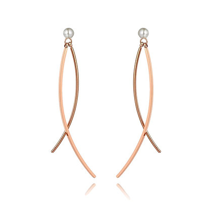 Kaia Rose Gold Plated Earrings