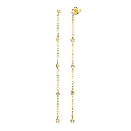 Gold Plated Everly Earrings