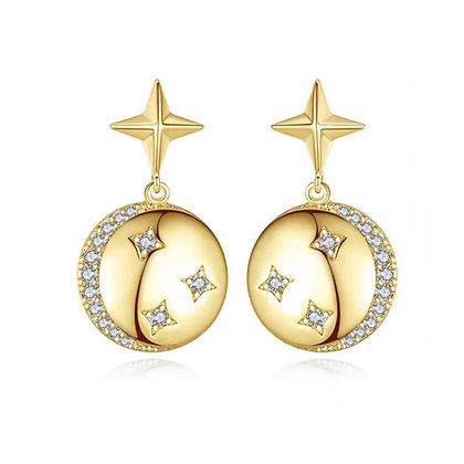 Gold Plated Harper Earrings