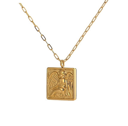 Gold Plated Etta Necklace