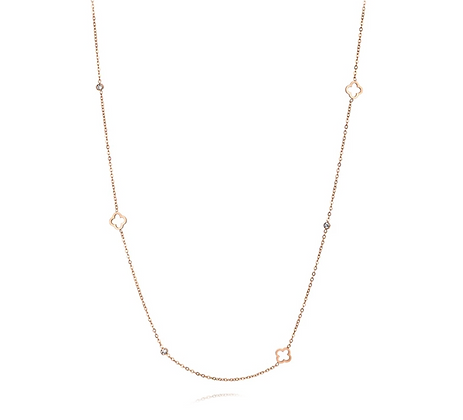 Rose Gold Plated Aurora Necklace