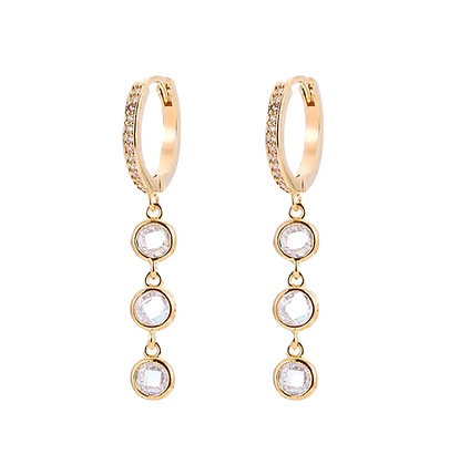 Gold Plated Pria Earrings