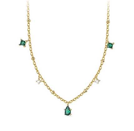 Gold Plated Figaro Necklace