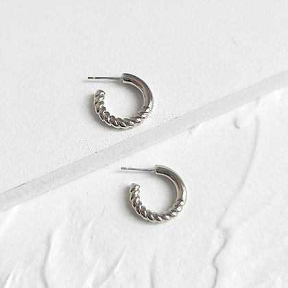 Silver Plated Olivia Earrings
