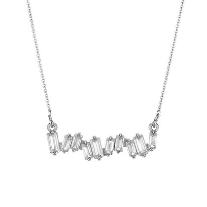 Silver Plated Monaco Necklace