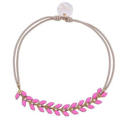 Pink Arrow Bracelet