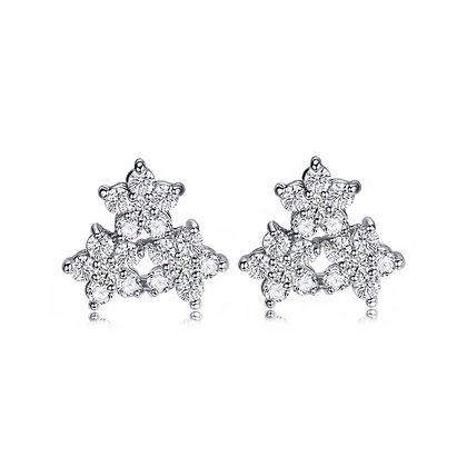 Silver Plated Viva Earrings