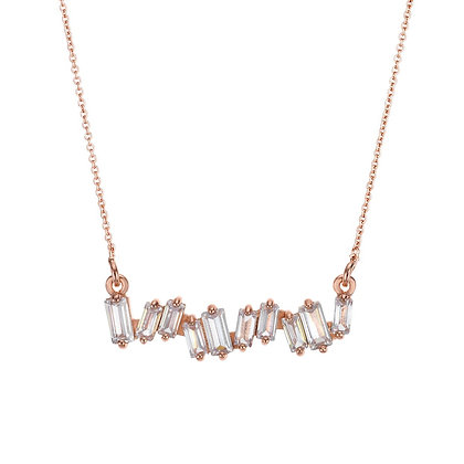 Rose Gold Plated Monaco Necklace