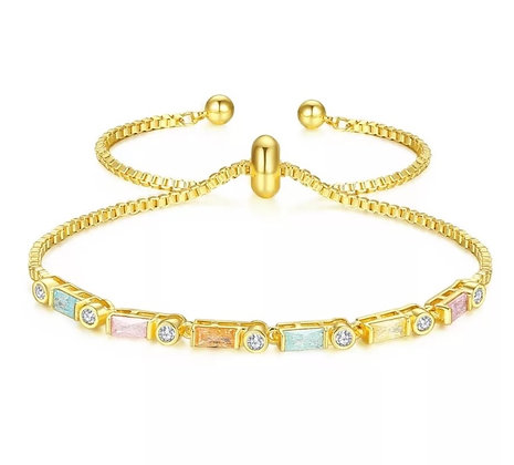 Gold Plated Candy Bracelet