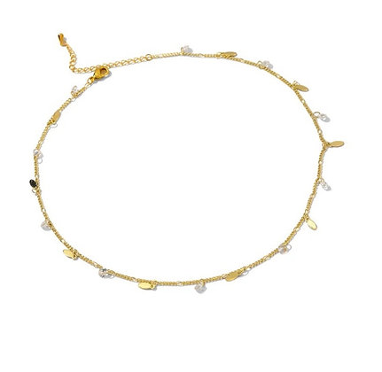 Gold Plated Diana Necklace