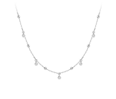 Silver Plated Ava Necklace