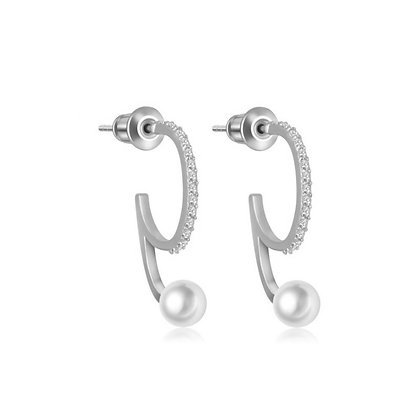 Silver Plated Paula Earrings