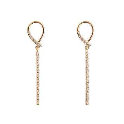 Gold Plated Lia Earrings