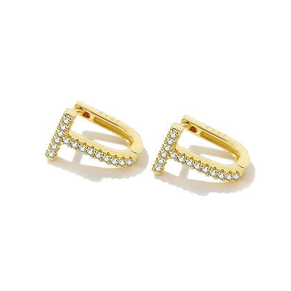 Gold Plated Serena Earrings