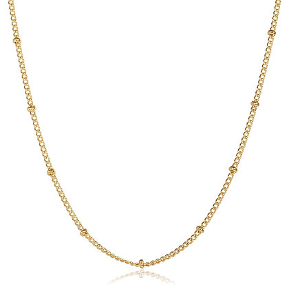 Gold Plated Ball Necklace