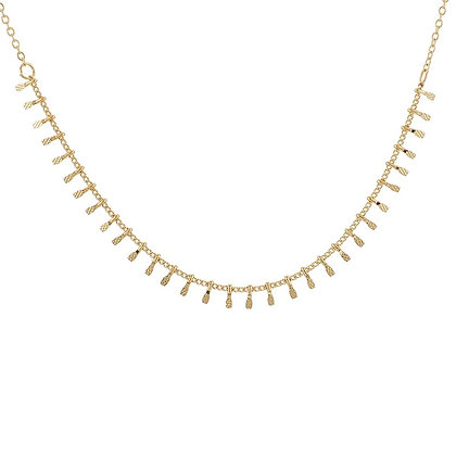 Gold Plated Anika Necklace